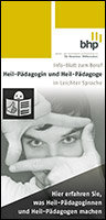 Berufsbild Heilpädagoge | Heilpädagogin (Version leichte Sprache)