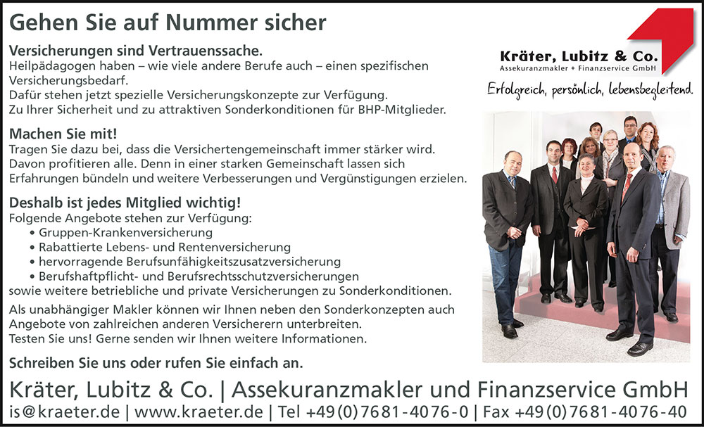 Kooperationspartner Käter, Lubitz & Co.