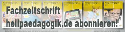 Fachzeitschrift heilpaedagogik.de abonnieren