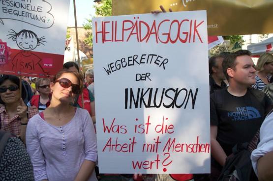Streikaktionen in München