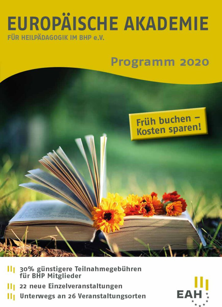 Cover des EAH Weiterbildungsprogramm