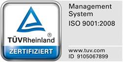 Zertifiziert nach DIN ISO 9001:2008