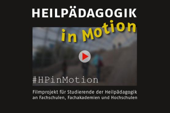 Prämierung des Filmprojektes HEILPÄDAGOGIK in Motion in Berlin