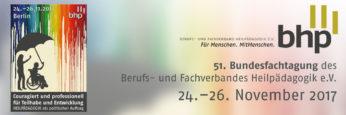 Veranstaltungsbild: 51. Bundesfachtagung des BHP - Berufs- und Fachverband für Heilpaedagogik e.V.