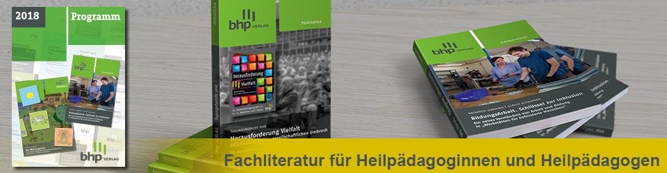 BHP | Fachliteratur für Heilpädagoginnen und Heilpädagogen