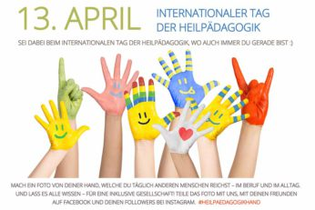Internationaler Tag der Heilpädagogik