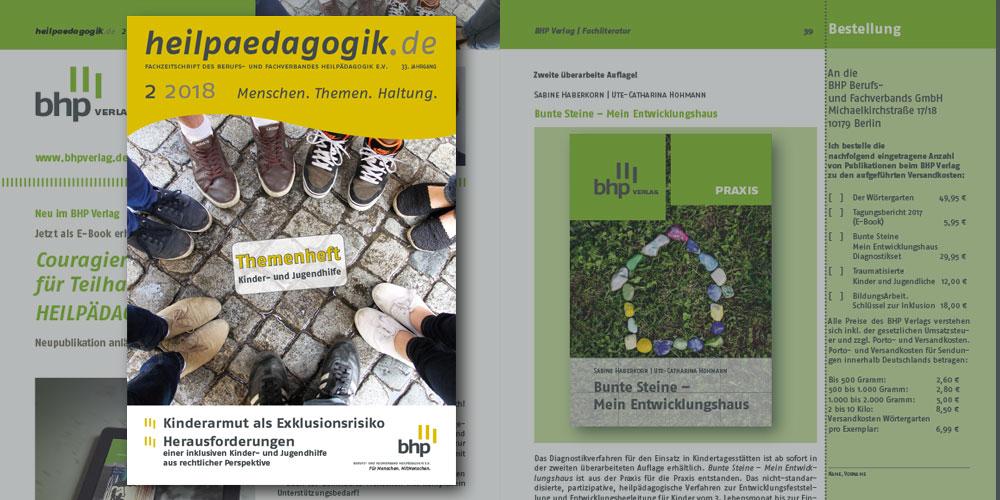 heilpaedagogik.de, Ausgabe 2018-2