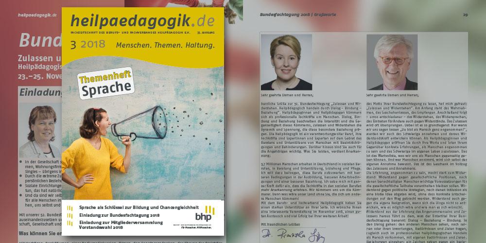 heilpaedagogik.de, Ausgabe 2018-3