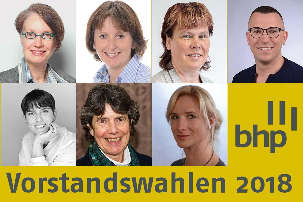 BHP Vorstandswahlen 2018 | Die Kandidatinnen und der Kandidat