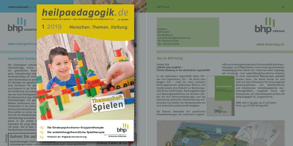 heilpaedagogik.de, Ausgabe 2019-1