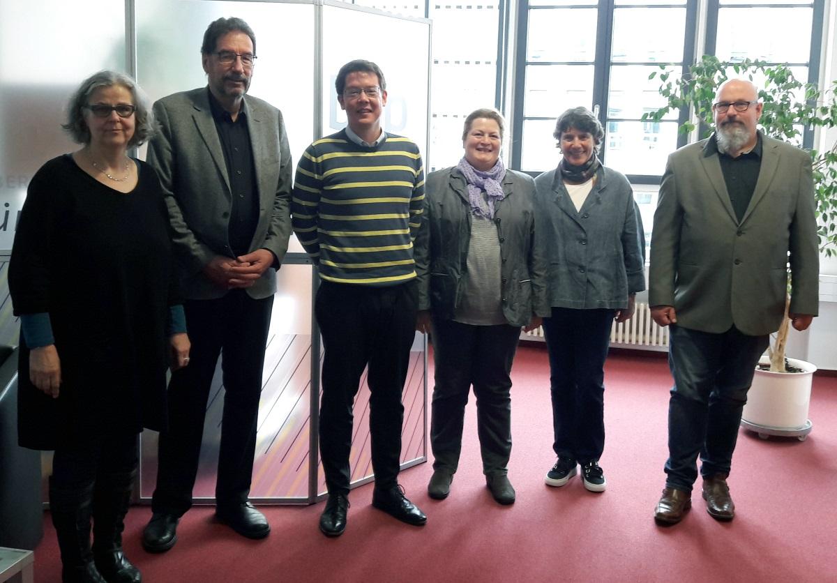 Personengruppe: BHP und akmas - Treffen zur Eingruppierung von HeilpädagogInnen