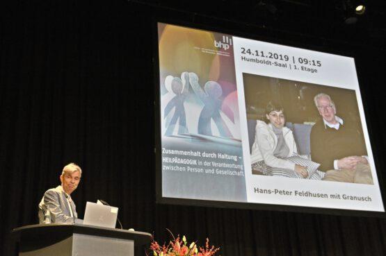 Zweiter Ehrenpreis der Heilpädagogik geht an Hans-Peter Feldhusen