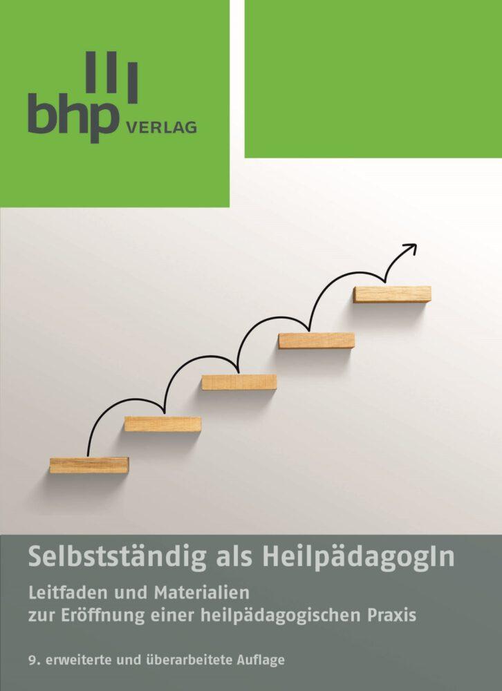 Cover des Buches Selbstständig als HeilpädagogIn aus dem BHP Verlag