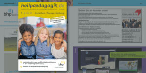 Titelansicht der BHP Fachzeitung heilpaedagogik.de