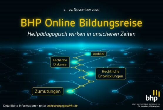 Erste BHP Online Bildungsreise mit positiver Resonanz