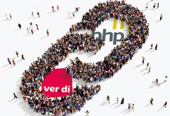 """BHP und ver.di: """"Doppelt kann mehr!"""" - Offensive Doppelmitgliedschaft 2021"""