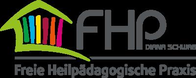 Logo FHP grau quer