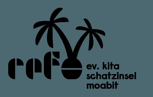 Logo der evangelischen Kita Schatzinsel Moabit